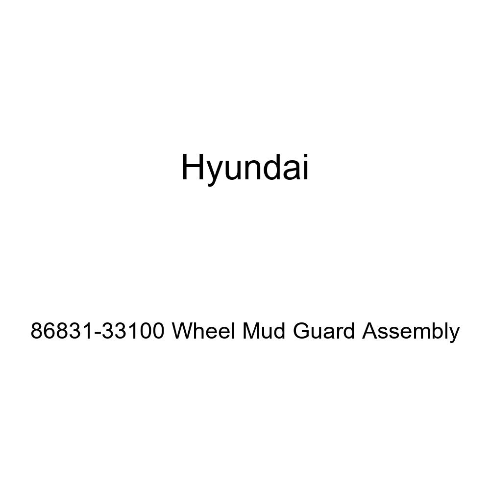 Genuine Hyundai 86831-33100 Wheel Mud Guard Assembly