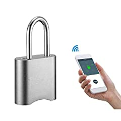 "How to Download the APP? Scan the QR code on the user manual to download the APP Product Parameter Model: GS50M Bluetooth code padlock Weight: 80g Material: High quality 6061 aluminum lock body, 1215 lock beam  Size: 3.5""*1.97""*0.8"" Battery: ..."