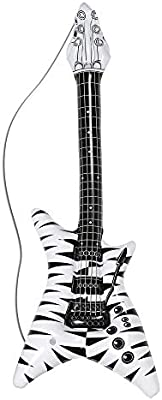 WIDMANN 04814 hinchable Rock Star Guitarra, unisex ? Adultos ...