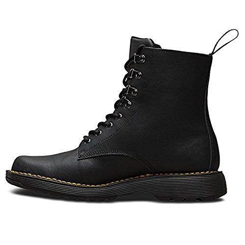 Dr.Martens Mens Lawton Peidmont Split Leather Boots Black Peidmont Split
