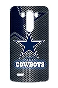 Hoomin Dallas Cowboys Mental Like Grey LG G3 Cell Phone Cases Cover Popular Gifts(Laster Technology) by lolosakes