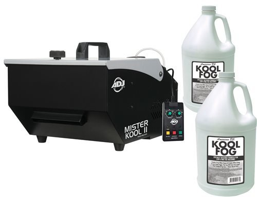 ADJ American DJ Mister Kool II Low Lying Fog Machine with Fluid by ADJ American DJ