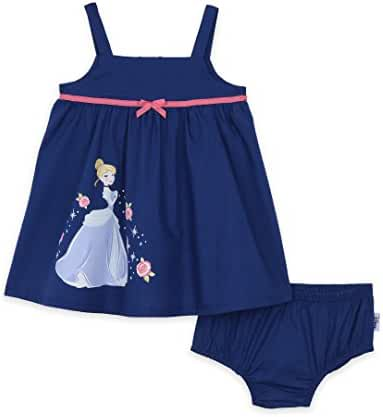 Disney Baby Girls' Cinderella 2-Piece Dress and Panty Set