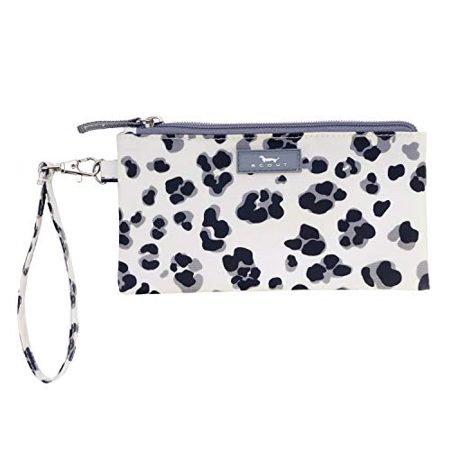 Print Wristlet - SCOUT Kate Wristlet, Essential Lightweight Clutch, Fits iPhone 6-8, Removable Strap, Water Resistant, Zips Closed, Press Paws