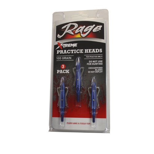 Grain Practice Blades - Rage X-treme Two Blade Practice Head(pack of 3)