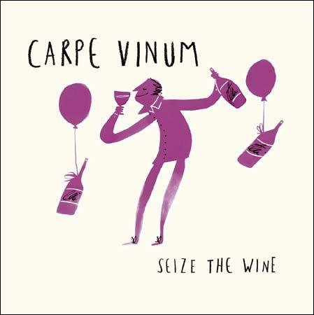 Seize The Wine Livin' It Birthday Greeting Card Contemporary Range Cards