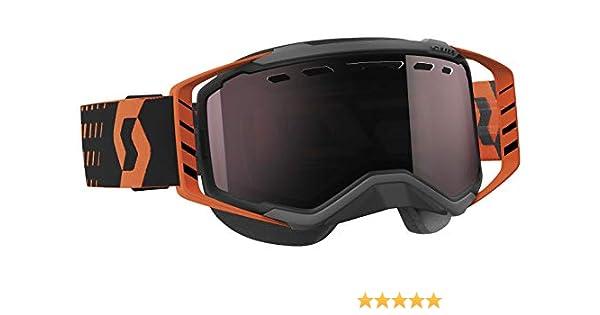 Scott Prospect Snow Cross Goggles Orange w//Red Chrome Lens