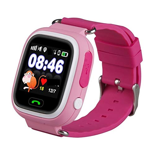 New Arrival Q90 GPS Phone Positioning Fashion Children Watch 1.22 Inch Color Touch Screen Kids Smart...