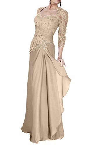 Sleeve Lace Appliques Mother Prom 3 Avril Dress Silver 4 of Bride Sweetheart Dress Long Iw1S4