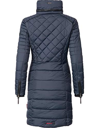 Navahoo Couleurs Bleu Foncé Femmes Xs xxl 5 D'hiver Manteau Ronin grwqF6g