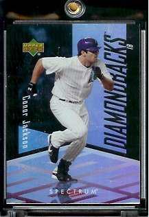 2007 Upper Deck Spectrum #50 Conor Jackson Diamondbacks - Mint Condition - In Screwdown Case (Spectrum Conditions)