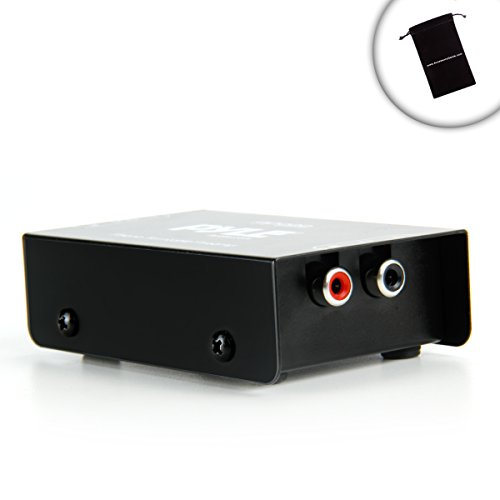 ProAMP Mini Phono Preamp for Stereo Receivers / Connect Your Stereo Receiver to Turntables , Microphones , or other Audio Devices - Works with Sony STR-DN1040 / STR-DH130 , Yamaha RX-V373 / RX-V377 , Denon AVR-E300 , Onkyo TX-8020 / TX-8050 , Harman Kardo by Accessory Genie