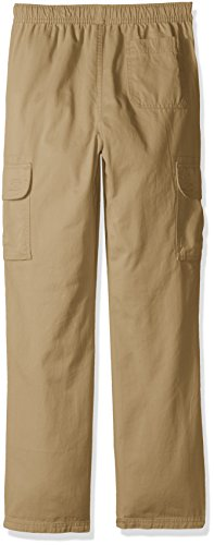 The Children's Place Big Boys' Pull-on Cargo Pant, Flax, 16H by The Children's Place (Image #2)