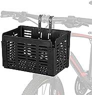 Folding Rear Bicycle Basket, Detachable Front Folding Rear Wire Bike Basket, Hanging Bike Basket Bicycle Cargo