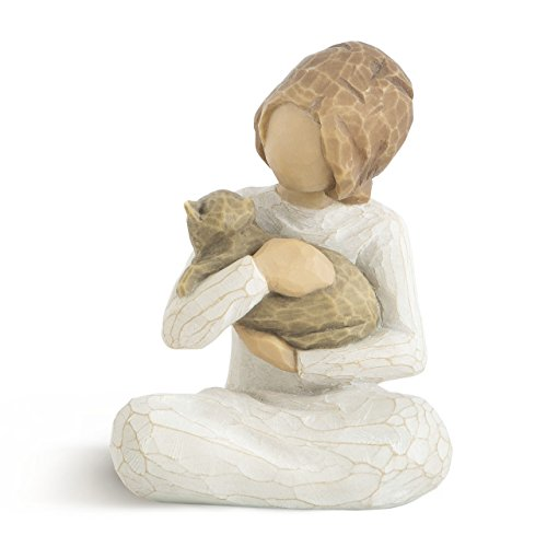 Willow Tree Hand-Painted Sculpted Figure, Kindness (Girl)