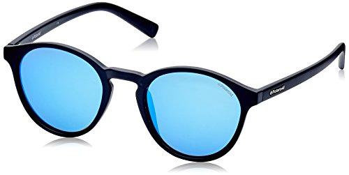 Polaroid 6013/S DL5JY Matte Black 6013/S Round Sunglasses Polarised Lens Catego ()