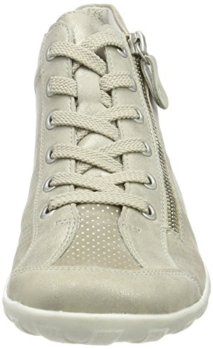 Remonte Ladies R3487 High Sneaker Beige (shell / Acciaio / Lega)