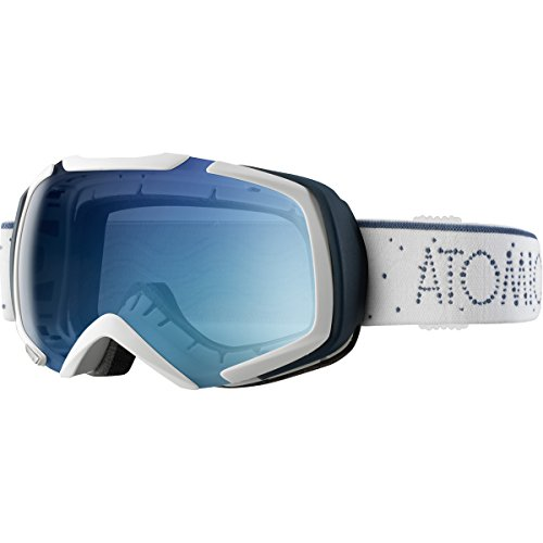 Atomic 2016/17 Revel S ML Ski Goggles - AN51053 (White/Light Blue)