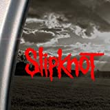 SLIPKNOT Red Decal ROCK BAND Car Truck Window Red Sticker