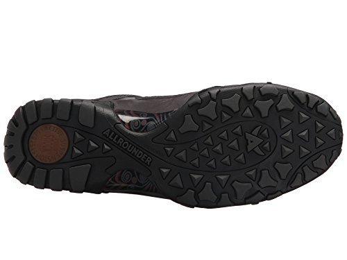 Allrounder by Mephisto Women's Fina TEX Black Rubber/Zinc G Nubuck 39.5 M EU
