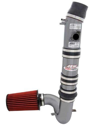 Mazda Metal Intake System - AEM 21-485C Gun Metal Cold Air Intake System