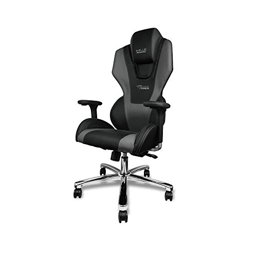E Blue Mazer Gaming Chair High Grade Pu Suede Leather Pc