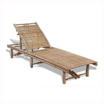 K&A Company Sunloungers, Sun Lounger Bamboo
