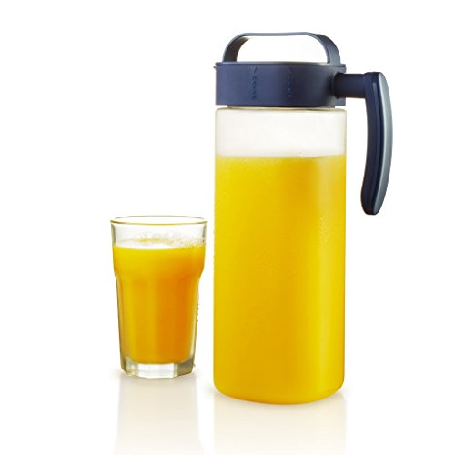 Komax Tritan Clear Large (2.1 quart) Water & Juice Pitcher BPA-Free With Airtight Lid Twist and Pour