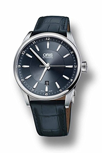 Oris 75576914051LS Artix Pointer Mens Watch 755 7691 4051 LS Silver Dial Stainless Steel Case Automatic Movement