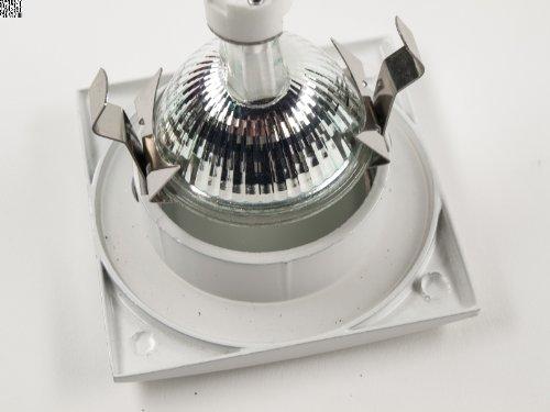 8 Pack 12 V prueba dreamlights aodquote*dquoteao en cromo para baño y ducha. Para lámparas halógenas y LED-apto: Amazon.es: Iluminación