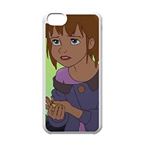 iPhone 5c Cell Phone Case White Disney Return to Never Land Character Jane 007 OQ7635398