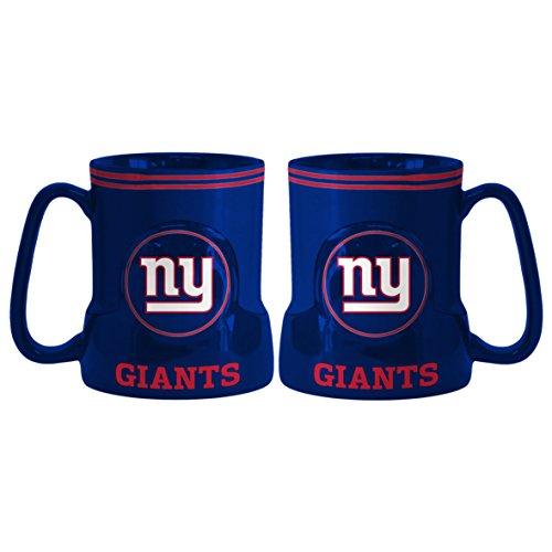 New York Giants Coffee Mug - 18oz Game Time (New Handle) (New Giants Mug York)