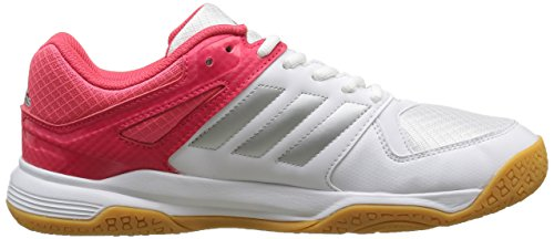 Silber adidas W Weiß Weiß Shoes Rot Speedcourt Handball Women's aapr0zv