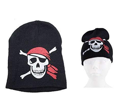 Gorro con nbsp;x nbsp;Calidad COOLMINIPRIX 1 nbsp;– Pirata diseño Negro AwBanEnqIx