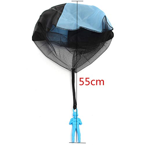 5PCS Random Color Skydiver Kids Toy Throwing Parachute Kite Outdoor Play Game Toy - Learning & Education Plane & Parachute Toys - 5 X Toy Parachute by Unknown (Image #5)