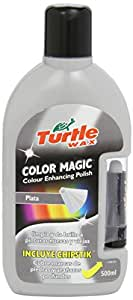 Turtle Wax FG7098 Cera Pintura Magic Plus Plata 500 ml