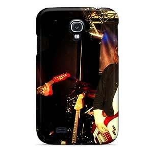 LauraAdamicska Samsung Galaxy S4 Bumper Hard Phone Case Allow Personal Design High-definition Red Hot Chili Peppers Skin [jYn13900wLhs]