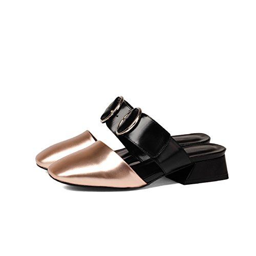 Sandalias de desgaste de moda de verano/Las mujeres con medias zapatillas de espesor y baotou I