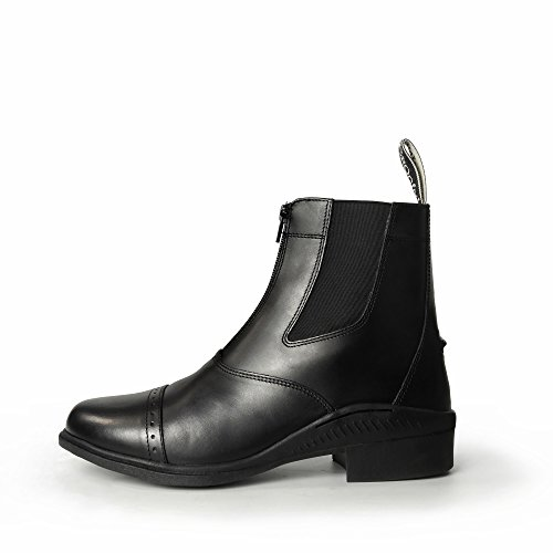 Brogini Tivoli Short Zip up Boot Black 3BfRee