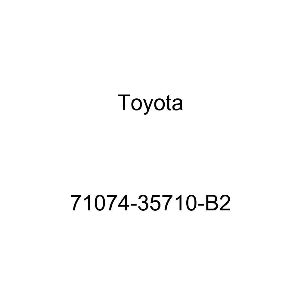 TOYOTA Genuine 71074-35710-B2 Seat Back Cover