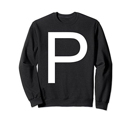 Unisex Salt And Pepper Couple Valentine Day Casual Sweatshirt Large Black