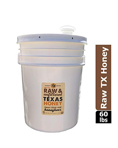 Raw, Unfiltered, Unpasteurized Texas Honey by Desert Creek Honey 5 Gallon (60 lbs) Bulk Bucket Non-GMO, Kosher by Desert Creek Honey (Image #8)