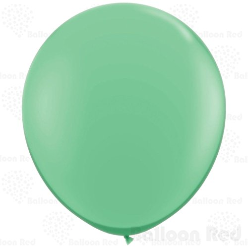 [36 Inch Giant Jumbo Latex Balloons (Premium Helium Quality), Pack of 24, Wintergreen] (Easy Homemade Adults Halloween Costumes)