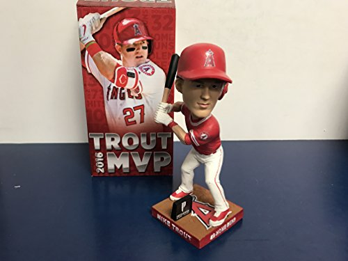 Mike Trout Los Angeles Angels 2016 TROUT MVP BOBBLE 1 of 3 Bobblehead SGA