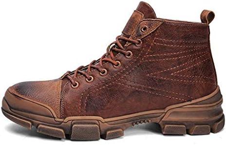 プラスベルベット防水チューブタクティカルブーツ軽量通気性ミリタリーブーツ旅行ハイキングシューズダブルエフェクト防水および防雪砂漠ツーリングブーツ (Color : Brown, Size : 44)