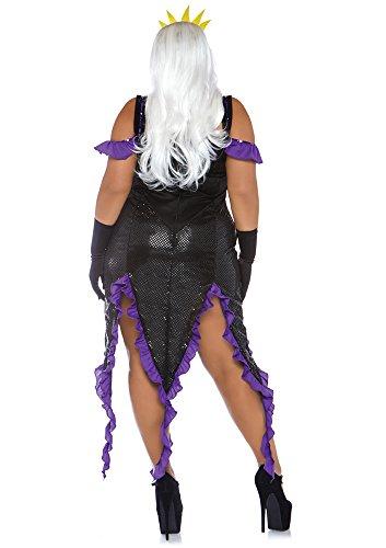 plus size 2 pc ursula sea witch costume
