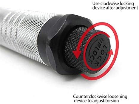 1/2インチドライブ±4%トルクレンチクロムバナジウム鋼デュアル方向はトルクレンチローレットハンドル較正にクリッククリック