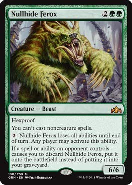 Magic: the Gathering - Nullhide Ferox (138/259) - Guilds of Ravnica