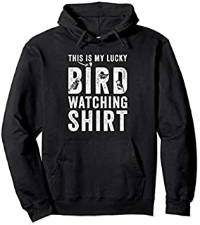 This Is My Lucky Bird Watching  Gift Birding Bird Pullover Hoodie T-shirt   Size S - 5XL
