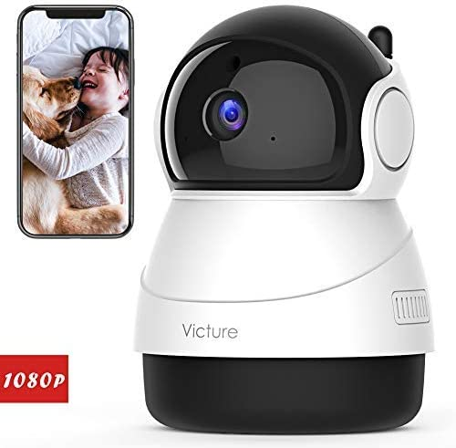 Stay Strong, USA Victure 1080P Baby Monitor with WiFi Camera FHD Indoor Wireless Surveillance Security IP Camera with Motion Detection Night Vision 2-Way Audio Cloud Storage for Baby Elder Pet